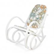 Кресло-качалка mod. AX3002-2 белое