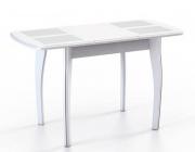 Стол Домино-1 МР белый