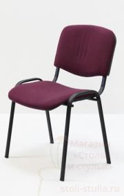 Офисное кресло ИЗО на черном каркасе