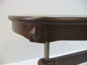 Стол трансформер Магнолия О столешница из массива